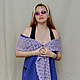 Модель: Мария Черняева Шалевый воротник может стать основой вечерного костюма.