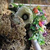 """Свадебный салон ручной работы. Ярмарка Мастеров - ручная работа Букет невесты """"Райская птица"""" РУСТИК ручной букет дублер. Handmade."""