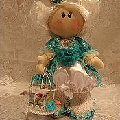 Тыквоголовка ручной работы. Ярмарка Мастеров - ручная работа Кукла Принцесса. Handmade.
