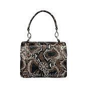 Сумки и аксессуары handmade. Livemaster - original item Handbag made of Python skin BRITT. Handmade.