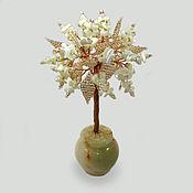 Цветы и флористика handmade. Livemaster - original item Tree from mother of pearl
