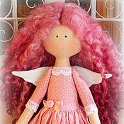 Куклы и игрушки ручной работы. Ярмарка Мастеров - ручная работа Куколка малышка в розовом. Handmade.