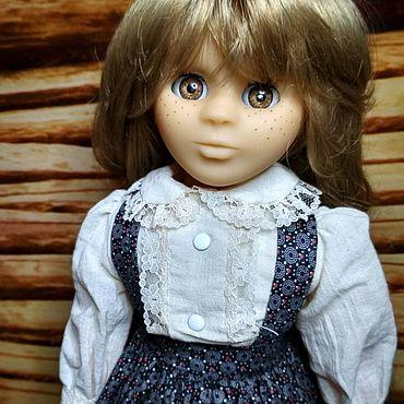 Винтаж ручной работы. Ярмарка Мастеров - ручная работа Кукла с очень длинными волосами от Clodrey. Франция. Handmade.