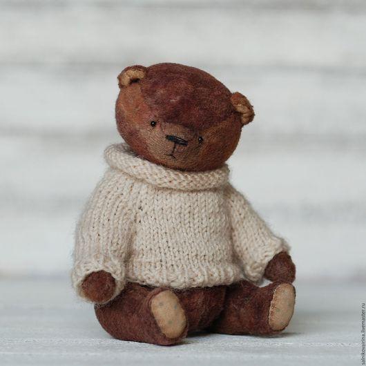 Мишки Тедди ручной работы. Ярмарка Мастеров - ручная работа. Купить Карапуз. Handmade. Мишка, игрушка, коричневый, handmade
