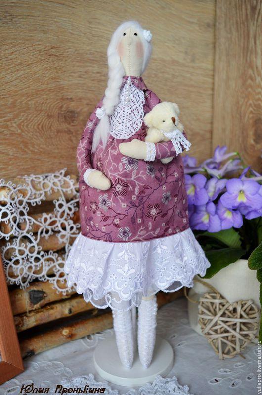 Куклы Тильды ручной работы. Ярмарка Мастеров - ручная работа. Купить Кукла тильда беременяшка-оберег для беременной, подарок молодой маме. Handmade.