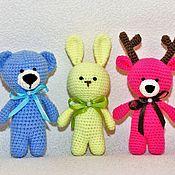 Куклы и игрушки handmade. Livemaster - original item Knitted animals. Handmade.