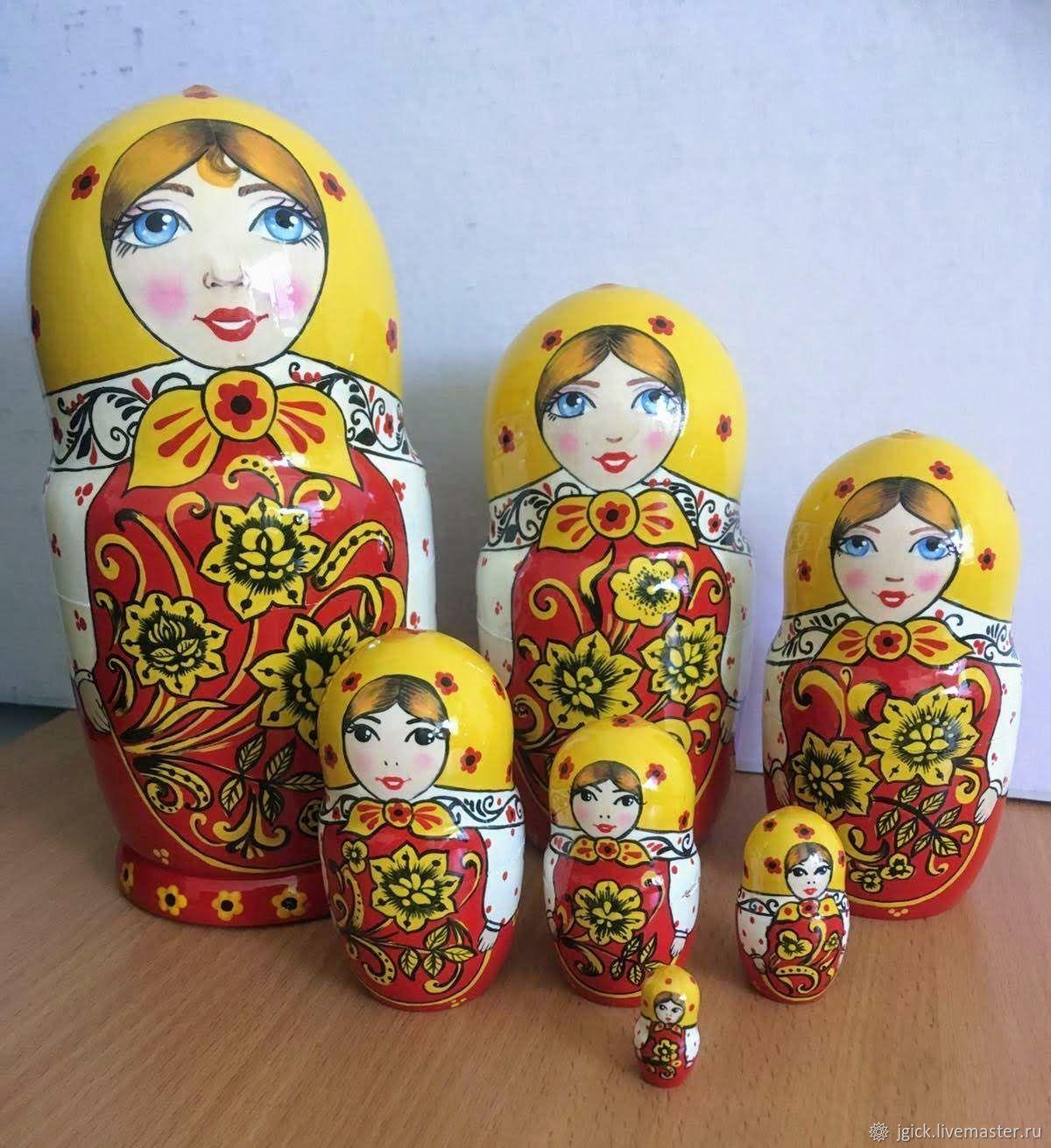 "Матрешка ""Хохломские узоры"", Матрешки, Омск,  Фото №1"