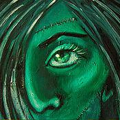 """Картины ручной работы. Ярмарка Мастеров - ручная работа Картина маслом """"Френни"""". Handmade."""