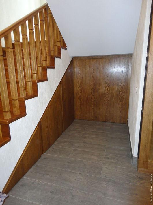 Мебель ручной работы. Ярмарка Мастеров - ручная работа. Купить шкаф под лестницей. Handmade. Лестница, мебель для дачи