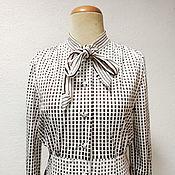 Винтаж ручной работы. Ярмарка Мастеров - ручная работа Винтажное платье Япония 70-е. Handmade.
