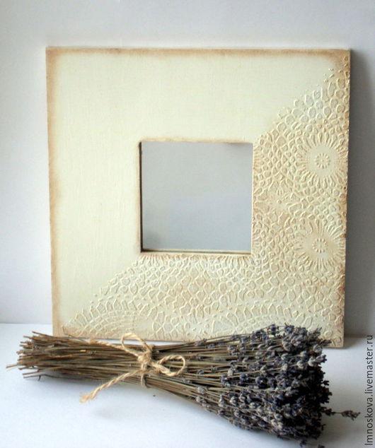 """Зеркала ручной работы. Ярмарка Мастеров - ручная работа. Купить """" Ещё немного и Прованс"""" Зеркало. Handmade. Зеркало, дерево"""