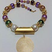 Украшения handmade. Livemaster - original item Set faux pearls Oriental style glamorous Shine. Handmade.