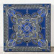 Картины и панно ручной работы. Ярмарка Мастеров - ручная работа Мандала Неба, интерьерная картина на холсте. Handmade.