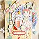 """Детские открытки ручной работы. Ярмарка Мастеров - ручная работа. Купить Открытка """"В День Рождения"""" детская. Handmade. Разноцветный"""