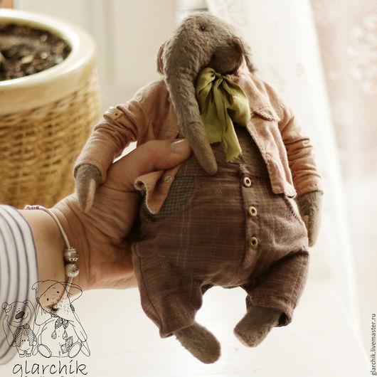 Мишки Тедди ручной работы. Ярмарка Мастеров - ручная работа. Купить слон Кардамон. Handmade. Коричневый, друзья тедди