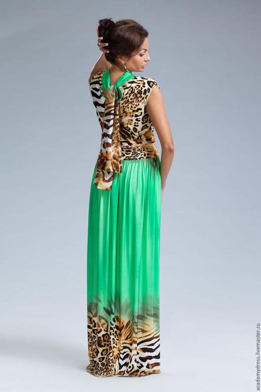 Платья ручной работы. Ярмарка Мастеров - ручная работа. Купить вечернее летнее платье. Handmade. Ярко-зелёный, День рождение
