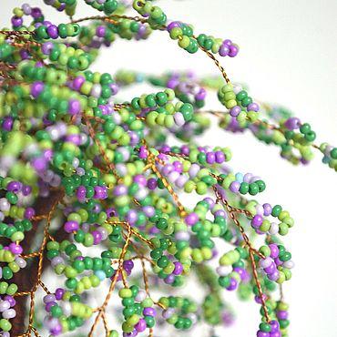 """Цветы и флористика ручной работы. Ярмарка Мастеров - ручная работа Деревья: дерево из бисера """"Цветение 3"""". Handmade."""