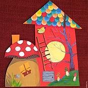 Для дома и интерьера ручной работы. Ярмарка Мастеров - ручная работа Деревянный дом Шпак Анастасии. Handmade.