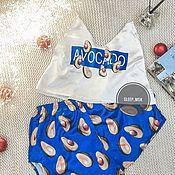 Пижамы ручной работы. Ярмарка Мастеров - ручная работа Пижама «авокадо». Handmade.