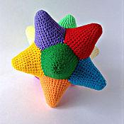 Куклы и игрушки ручной работы. Ярмарка Мастеров - ручная работа погремушка звезда. Handmade.