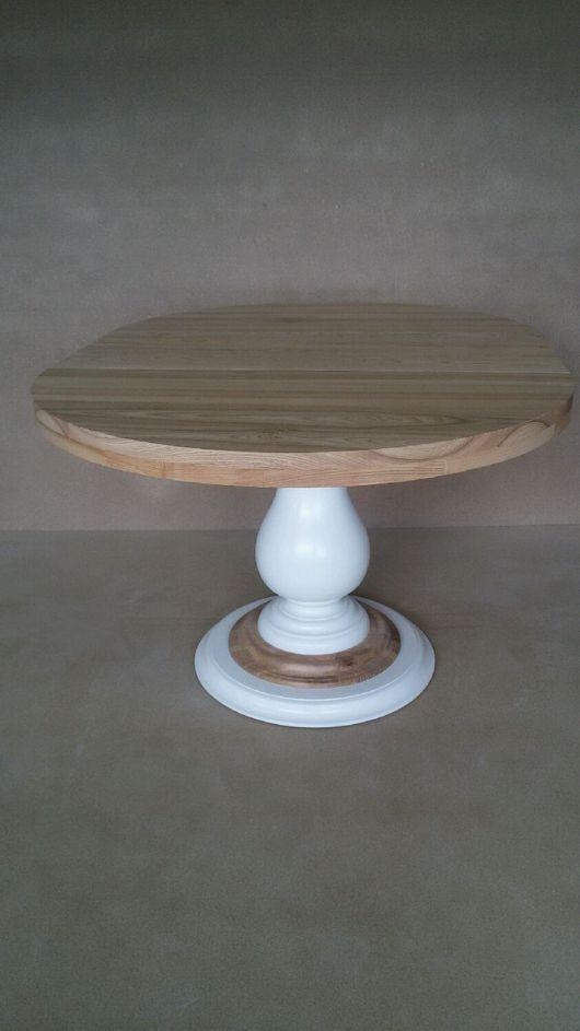 Мебель ручной работы. Ярмарка Мастеров - ручная работа. Купить Стол круглый обеденный раздвижной. Handmade. Стол, Массив ЯСЕНЯ