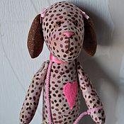 Куклы и игрушки ручной работы. Ярмарка Мастеров - ручная работа Тильда Собачка. Handmade.