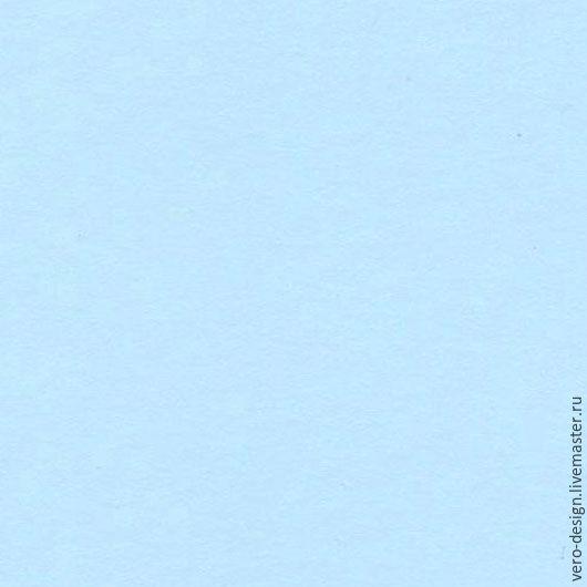 Открытки и скрапбукинг ручной работы. Ярмарка Мастеров - ручная работа. Купить Кардсток для скрапбукинга, цвет светло-голубой , 240 г, 30 Х 30 см. Handmade.