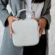 Сумки и аксессуары handmade. Livemaster - original item Bag women`s leather over the shoulder, a small light bag on a chain. Handmade.
