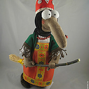 """Куклы и игрушки ручной работы. Ярмарка Мастеров - ручная работа Баба-Яга """"Мультяшная"""". Handmade."""