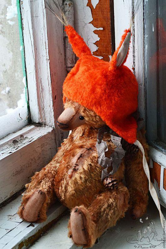 Мишки Тедди ручной работы. Ярмарка Мастеров - ручная работа. Купить Бельчонок .... Handmade. Мишка, мишка в подарок, старый плюш