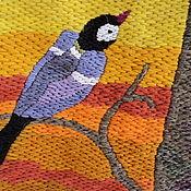 Картины и панно handmade. Livemaster - original item Embroidery .Waiting. Handmade.
