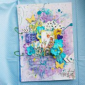 Канцелярские товары ручной работы. Ярмарка Мастеров - ручная работа Папка для детских рисунков. Handmade.