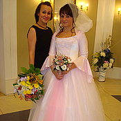 Свадебный салон handmade. Livemaster - original item Wedding dress ANGELIQUE. Handmade.