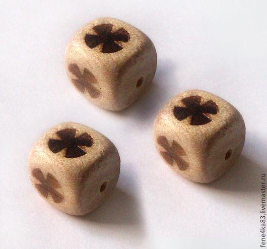 Для украшений ручной работы. Ярмарка Мастеров - ручная работа. Купить Кубики с узором. Handmade. Кубики, кубики деревянные, бусины