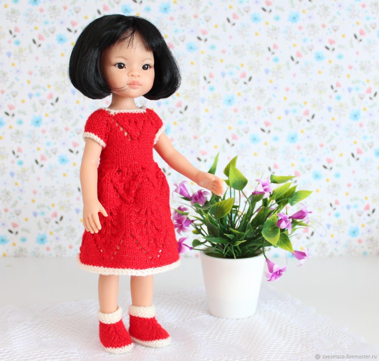 """Платье """"Мак"""" для куклы Paola Reina, Одежда для кукол, Челябинск,  Фото №1"""