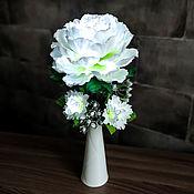 Для дома и интерьера handmade. Livemaster - original item Flower-night light