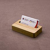 Органайзер ручной работы. Ярмарка Мастеров - ручная работа Подставка для визиток и телефона. Handmade.