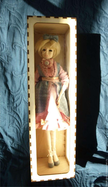 Кукла из фанеры