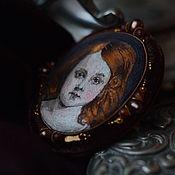 Украшения handmade. Livemaster - original item Embroidered brooch