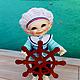 Вязание ручной работы. Ярмарка Мастеров - ручная работа. Купить PDF мастер-класс Вязание крючком для кукол BJD RealPuki-Морячок. Handmade.
