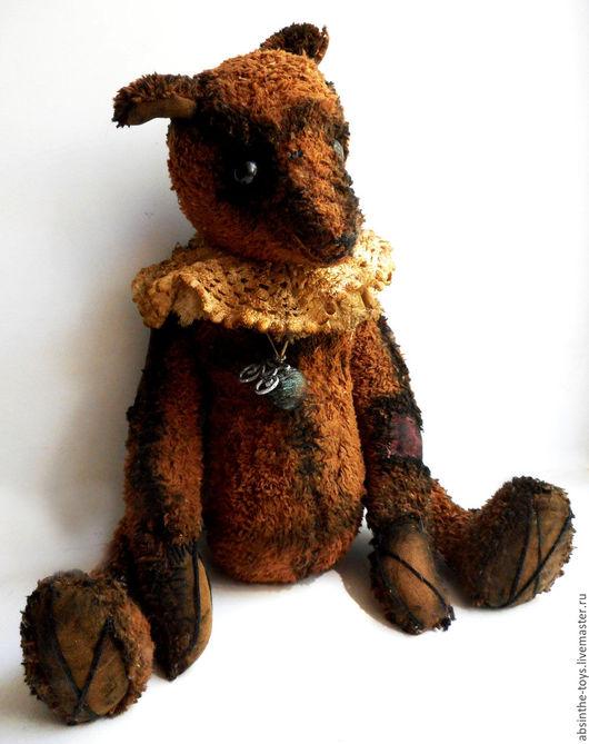 Мишки Тедди ручной работы. Ярмарка Мастеров - ручная работа. Купить Ленивый Шадо. Handmade. Коричневый, плюшевый медведь, опилки