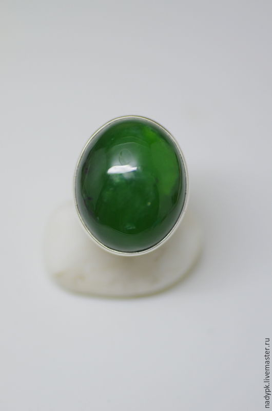 Ring with jade 'the Emperor', Rings, Moscow,  Фото №1