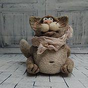 Куклы и игрушки ручной работы. Ярмарка Мастеров - ручная работа Кот Ромео. Handmade.