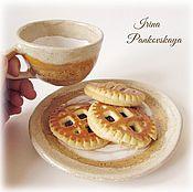 """Посуда ручной работы. Ярмарка Мастеров - ручная работа Керамический набор """"Бисквит"""". Handmade."""
