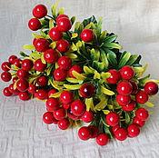 Материалы для творчества ручной работы. Ярмарка Мастеров - ручная работа Куст с ягодами. Handmade.
