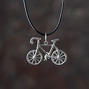 Украшения handmade. Livemaster - original item A bike pendant. Handmade.