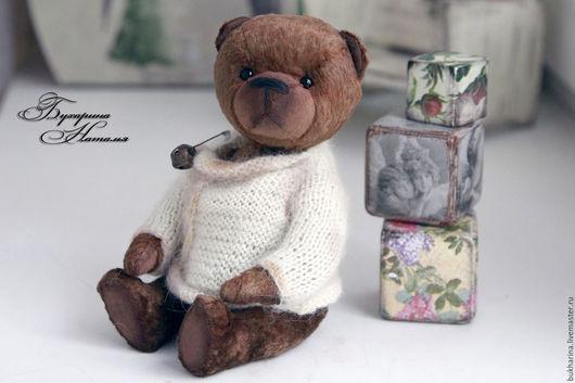 Мишки Тедди ручной работы. Ярмарка Мастеров - ручная работа. Купить Мишка Теодор. Handmade. Коричневый, бухарина наталья