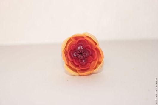 Кольца ручной работы. Ярмарка Мастеров - ручная работа. Купить Кольцо Южанка из полимерной глины. Handmade. Разноцветный, светлый