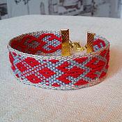 Русский стиль handmade. Livemaster - original item Bracelet Makosh. Handmade.