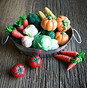 Куклы и игрушки ручной работы. Ярмарка Мастеров - ручная работа Овощи миниатюрные. Handmade.